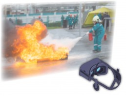 Virtual Reality Safety Graphic