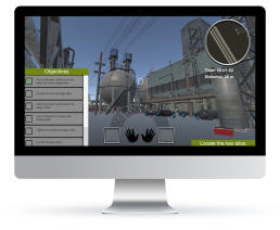 Virtual Reality Operations Training Graphic